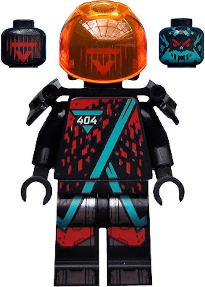 LEGO Ninjago Red Visor minifiguur NJO566