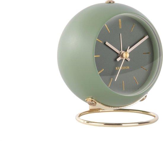 Karlsson Wekkers Alarm clock Globe Design Armando Breeveld Groen