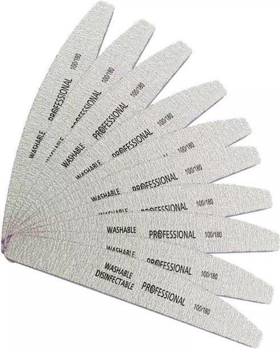 Vijlen - Half Moon - 15 stuks - Half Moon - Professional - Acryl- Gel -Polygel - gel nagellak - nage