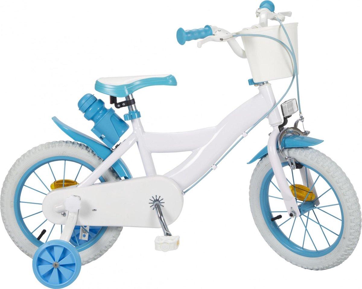 Toimsa Diy Kinderfiets Unisex Wit;Blauw 14 online kopen