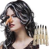 Dressing Up & Costumes | Costumes - Makeup Extensions - Set Heks (Neus En 10 Nag