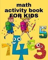 math activity book FOR KIDS