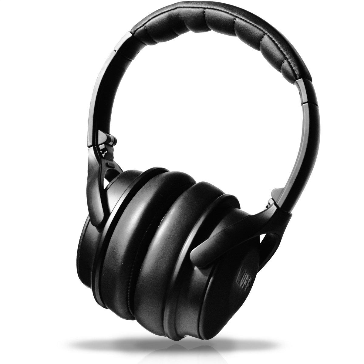 Wuff Draadloze Over-ear Koptelefoon Met Ingebouwde Microfoon – Koptelefoon Bluetooth – Noise Canceling – Headphone – Zwart