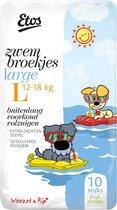 Etos Woezel & Pip Zwembroekjes Large Zwemluiers - 6 x 10 stuks