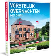 Bongo Bon Nederland - Vorstelijk overnachten met diner Cadeaubon - Cadeaukaart cadeau voor koppels | 22 heerlijke hotels