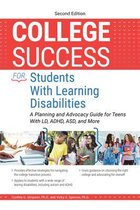 Omslag College Success for Students With Learning Disabilities