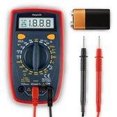 LifeGoods Digitale Multimeter – Stroom, Spanning, Weerstandsmeter – Continuïteitstest – Diodetest – Elektriciteitsmeter