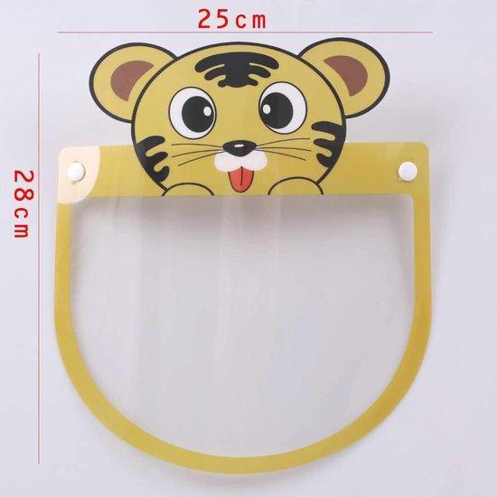 Gezichtsmasker - Verstelbaar - Tijger print - Herbruikbaar - 1 stuks