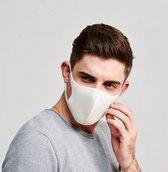 Mondkapje - Niet Medisch - Mondmasker - Wit - Herbruikbare Mondkapjes - Mondbeschermer - Face Mask