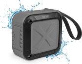Nikkei BOXX1GY - Waterbestendige Bluetooth Speaker - Grijs