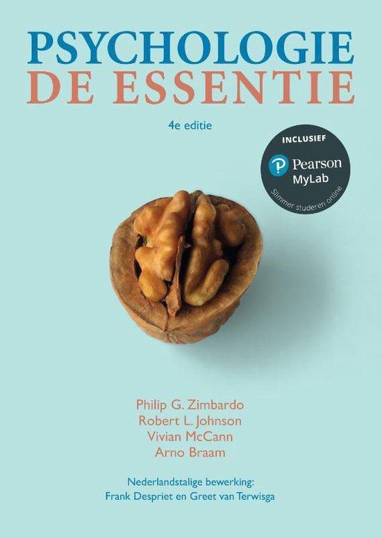 Psychologie, de essentie, 4e editie met mylab nl toegangscode