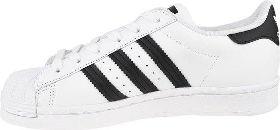 adidas Superstar J FU7712, Kinderen, Wit, Sneakers maat: 36 23 EU