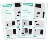 ID Sjabloon 2019/2020 kopie paspoort/ID/Rijbewijs (2 stuks)
