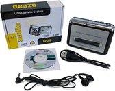 Tape naar PC Super USB Cassette naar MP3 Converter Opname Audio Muziek Speler(zilver)