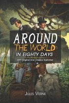 Around the World in Eighty Days: ( illustrated ) The Complete Original Classic Novel, Unabridged Classic Edition
