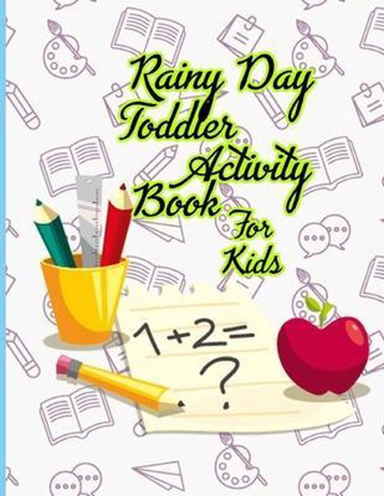 Rainy Day Toddler Activity Book For Kids