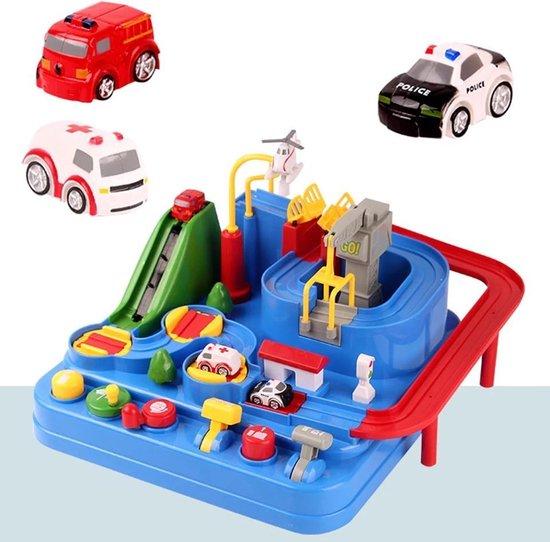 Bol Com Play It Speelgoed Auto Racebaan Inclusief Pop It Fidget Toys