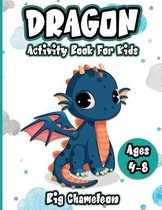 Dragon Activity Book for Kids Ages 4-8