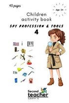 Spy Profession and Tools;children Activity Book-4