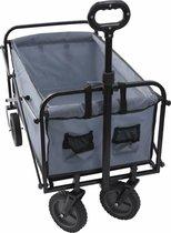 Kynast bolderwagen/bolderkar - max. 70kg - grijs