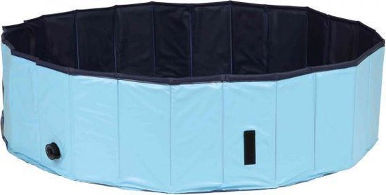 Trixie Hondenzwembad Lichtblauw/Blauw 70 x 70 x 12 cm