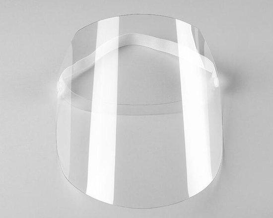 Spatmasker - Gezichtsbescherming - Herbruikbaar - Transparant