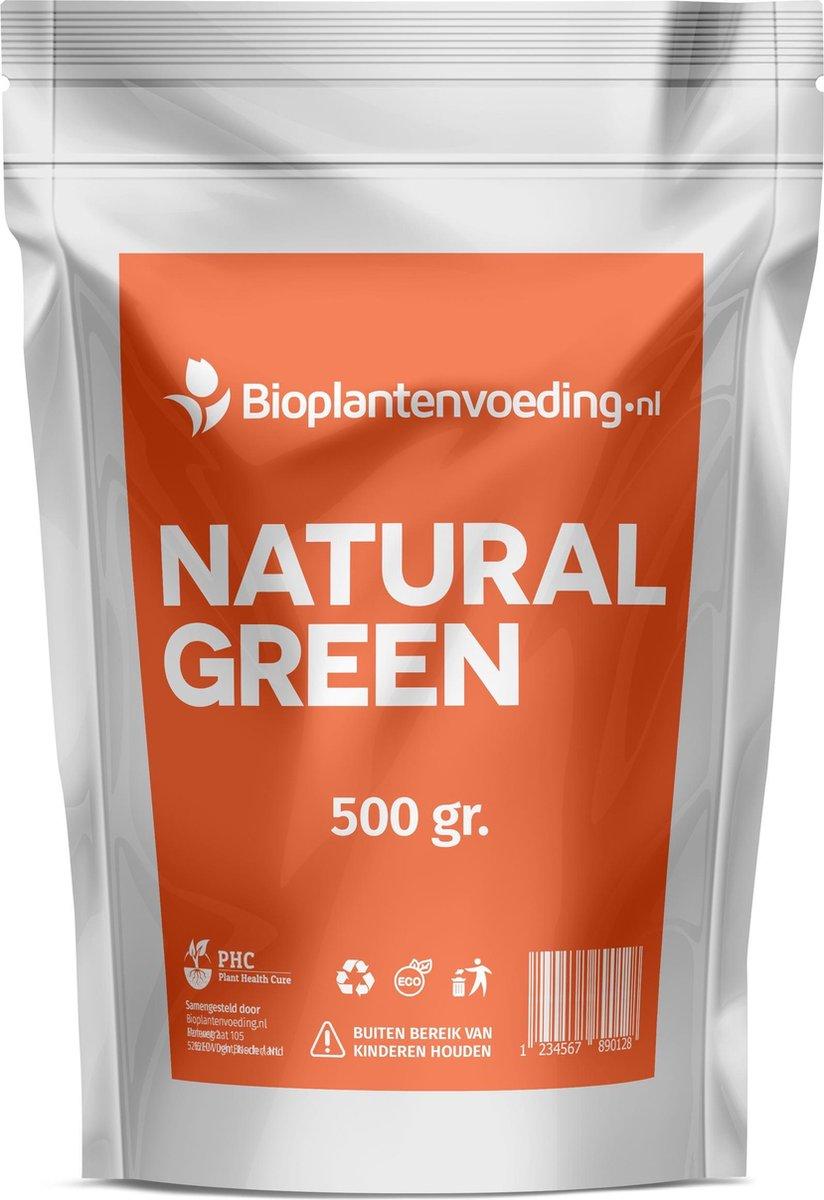 Natural Green Bladmeststof - Verbetert de vitaliteit en weerstand - Hogere opbrengst van oogst - Herstelt bladkleur - Voorkomt ziektes