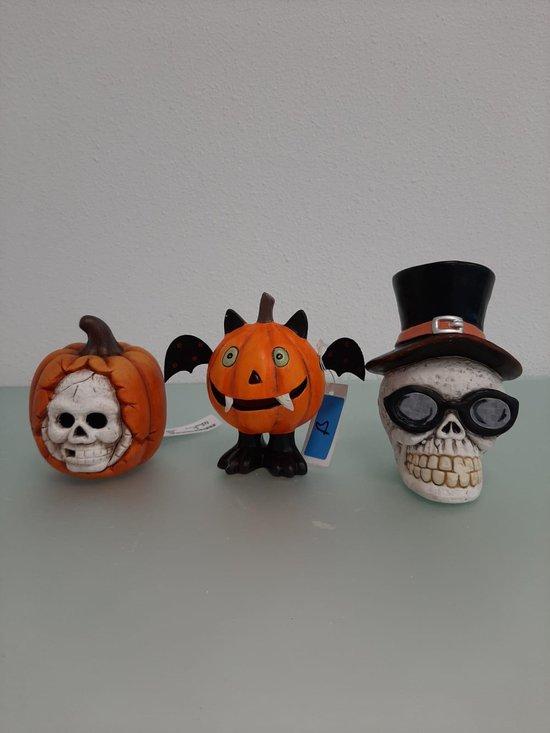 3 halloween decoraties