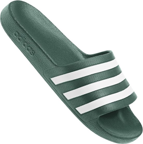 adidas - Adilette Aqua - Groen - Heren - Europese maat 42