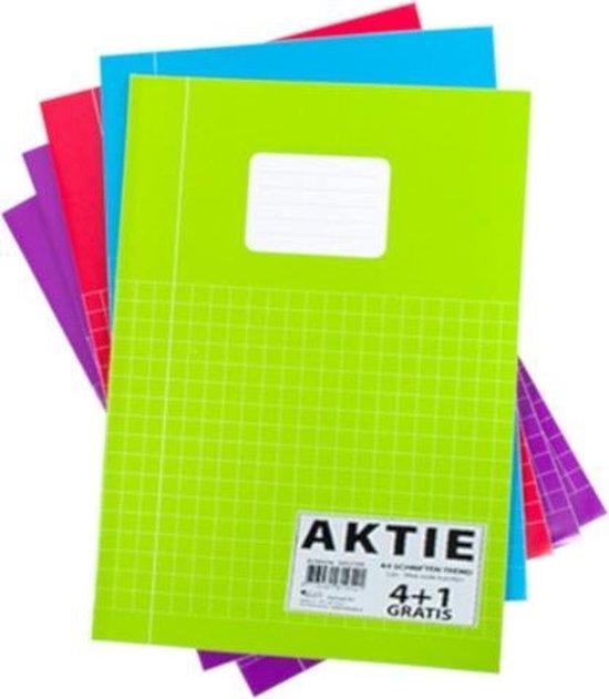 Afbeelding van Soho Schrift Trend A4 Ruitjes 10mm Papier 5 Stuks speelgoed