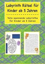 Labyrinth Ratsel fur Kinder ab 5 Jahren