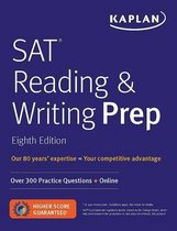 Boek cover SAT Reading & Writing Prep van Kaplan Test Prep