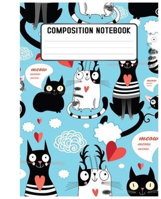 Composition Notebook: school and college writing and notes.