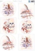 Marianne Design • Decoupage Mattie's mooiste birds 10 vel