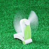 Mini Ventilator by ATV PERFECTUM - mobiele ventilator - mini luchtkoeler - tafelventilator - mini airco - Draagbare airco - Draagbare ventilator