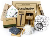 Cadeaupakket voor hem ZustainaBox - Duurzaam kado's - Persoonlijke Verzorging & Badkamer voor mannen geschenk