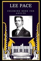 Lee Pace Coloring Book for Adults