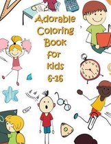 Adorable Coloring Book for kids