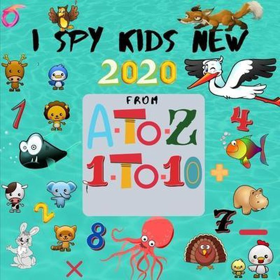 I Spy Kids from A to Z - 1 to 10 New 2020