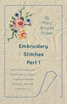 Embroidery Stitches Part 1 - Instruction Paper With Examination Questions