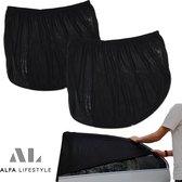 Luxe zonneschermen auto - UV protectie & privacy bescherming - 2 stuks