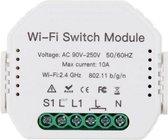 Smart Home slimme inbouw schakelaar module - enkel - wifi