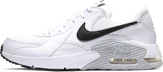 Nike Air Max Excee Sneakers - Maat 44.5 - Mannen - wit/ zwart/ grijs