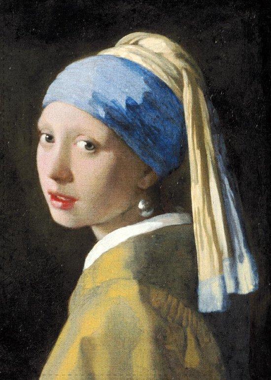 Theedoek, Meisje met de parel, Vermeer
