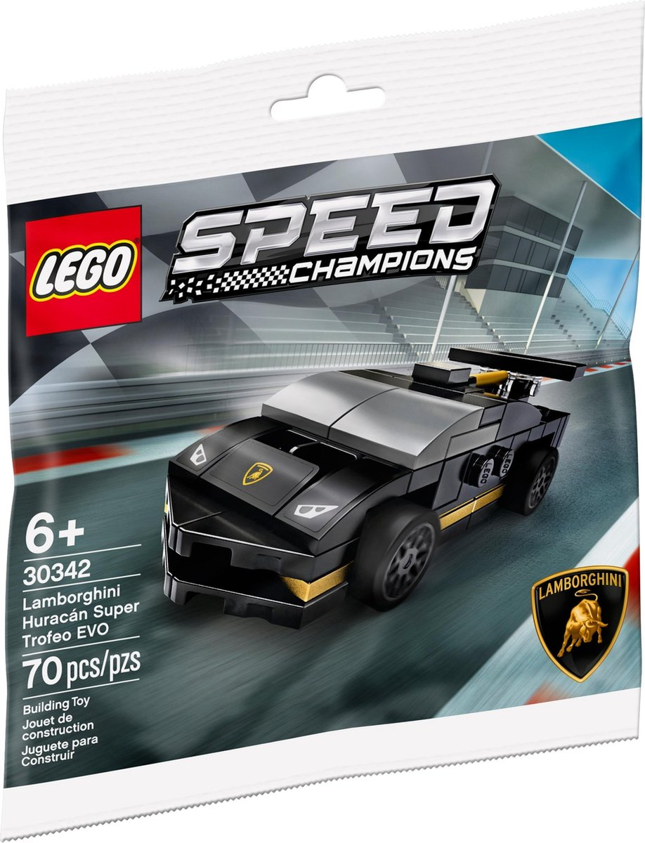 Lamborghini Huracán Super Trofeo EVO Speed Champions (Polybag)