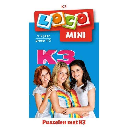 Loco Mini Puzzelen met K3 (boekje) - Loco |
