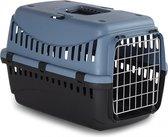 ECO Transportbox Gipsy L 58x38x38cm - kat/kleine hond - Blauw