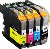 Nu Actie!  Brother LC-223 Multipack 2 x ( 8 cartridges )- Huismerk XXL Hoge capaciteit