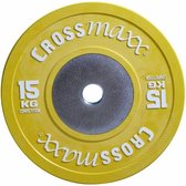 Lifemaxx Crossmaxx Competition Bumper Plate - 50 mm - 15 kg