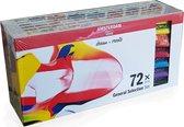Amsterdam Standard acrylverf 72 tubes 20ml